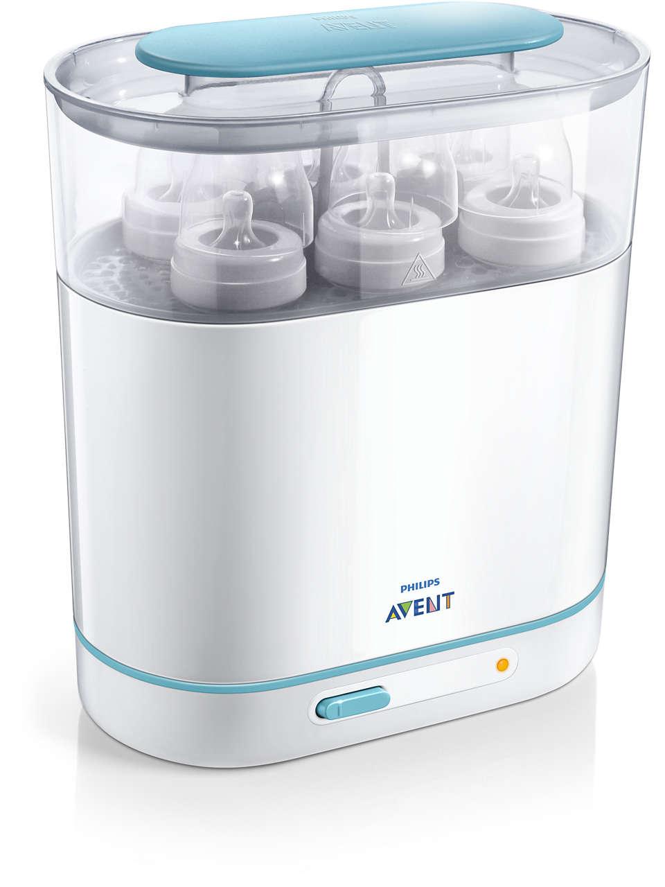 Pohodlná aefektivní sterilizace