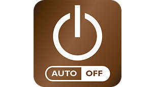 Auto shut-off after 30 min. for energy saving and safety