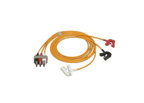 3-adr. S.kabel, Clips, OP AAMI Elektrodenkabel