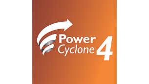 Tehnologija PowerCyclone 4 razdvaja prašinu i zrak u jednom potezu