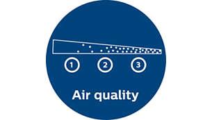 Feedback în timp real privind calitatea aerului (seria 1000)