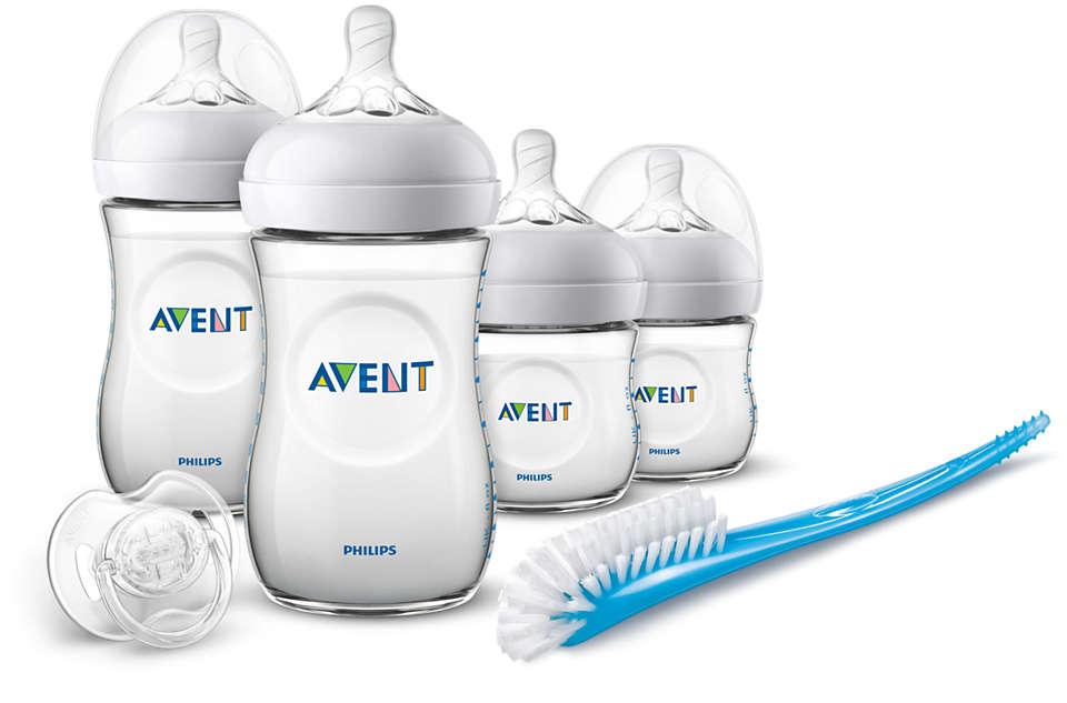 Fácil de combinar con la lactancia materna natural