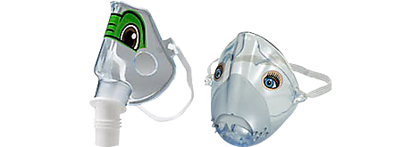 Pediatric Sidestream mask Reusable/disposable nebulizers and compressors