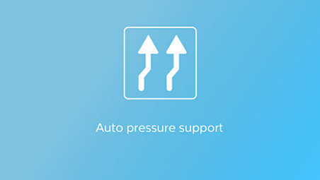 Auto pressure support to stabilise periodic breathing