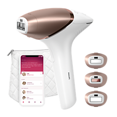 BRI955/00 Lumea IPL 9000 Series IPL hair removal device