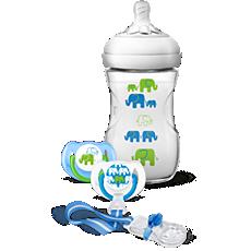 SCD627/13 Philips Avent Natural elephant design gift set