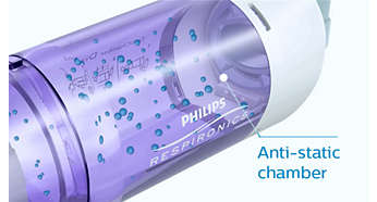 Anti-static valved holding chamber gives you more time