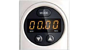 Intelli control timer with lock feedback & auto shut-off