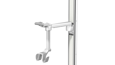 Pre-assembled wall, rail and post mounting options Mounting solution