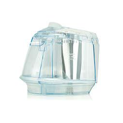 Aftagelig vandtank til dit strygejern