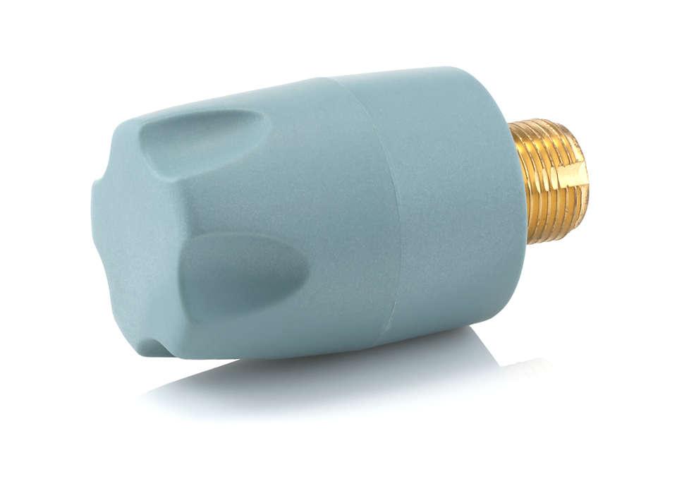 Para cerrar el recipiente para el agua de la plancha