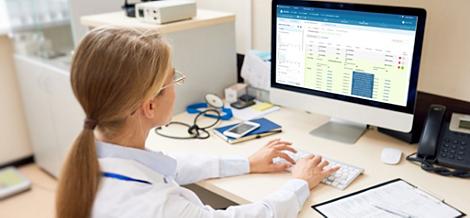 IntelliSpace Precision Medicine Genomics Conversión de datos moleculares en conocimientos clínicos.