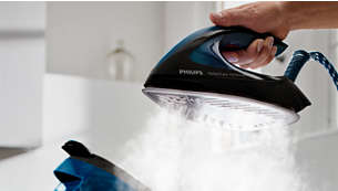 Powerful steam for ultimate crease removal