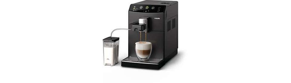 Twoje ulubione cappuccino za jednym dotknięciem przycisku