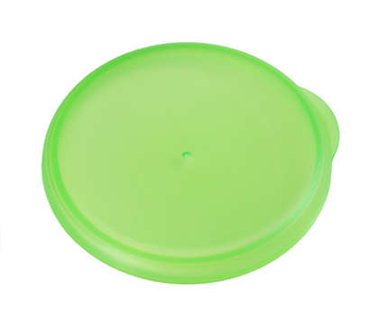 Green cap to seal your grown up cup