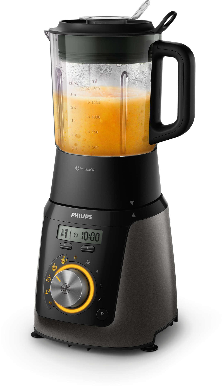 Mixen und Zubereiten von Suppen, Smoothies, Saucen und mehr