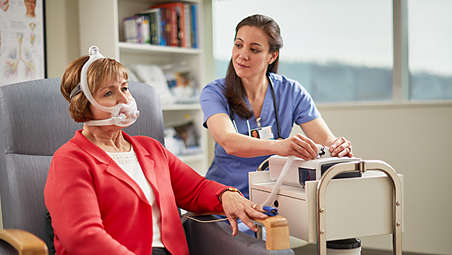 Enhance therapy with AVAPS