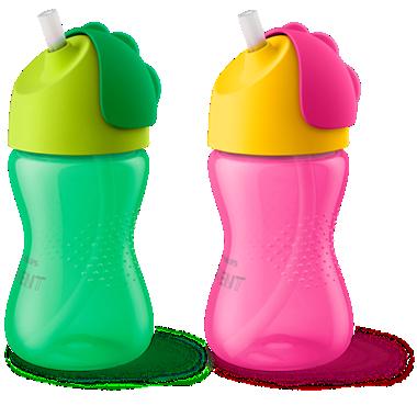 Avent Bình tập uống có ống hút cho trẻ từ 12 tháng tuổi