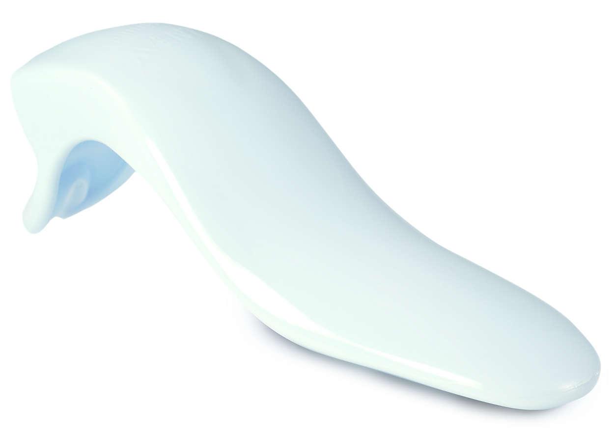Pour actionner le diaphragme du tire-lait