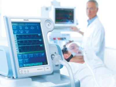 V60 Non-invasive ventilator   Philips