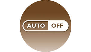 60 minutes auto shut-off for energy saving