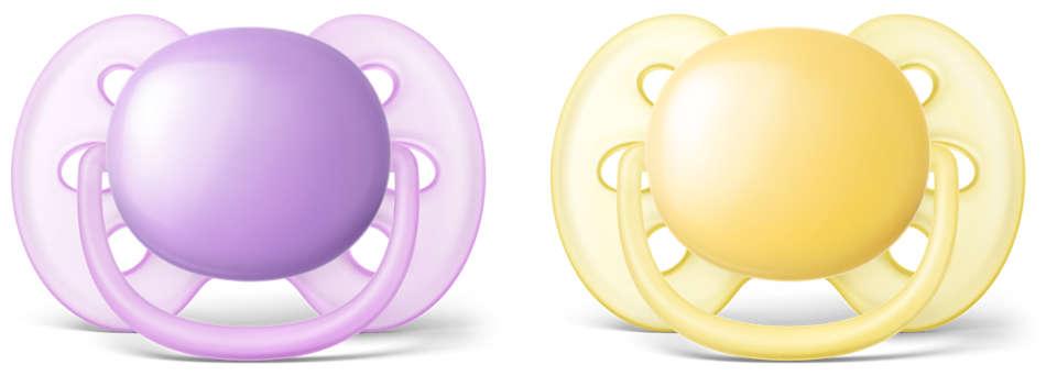 Il ciuccio più morbido per la pelle sensibile del tuo bambino