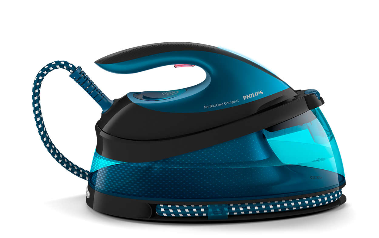 Ταχύτερο σιδέρωμα με διπλάσιο ατμό*