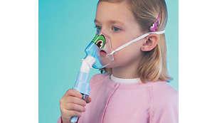 Produceert consistent aerosol van hoge kwaliteit