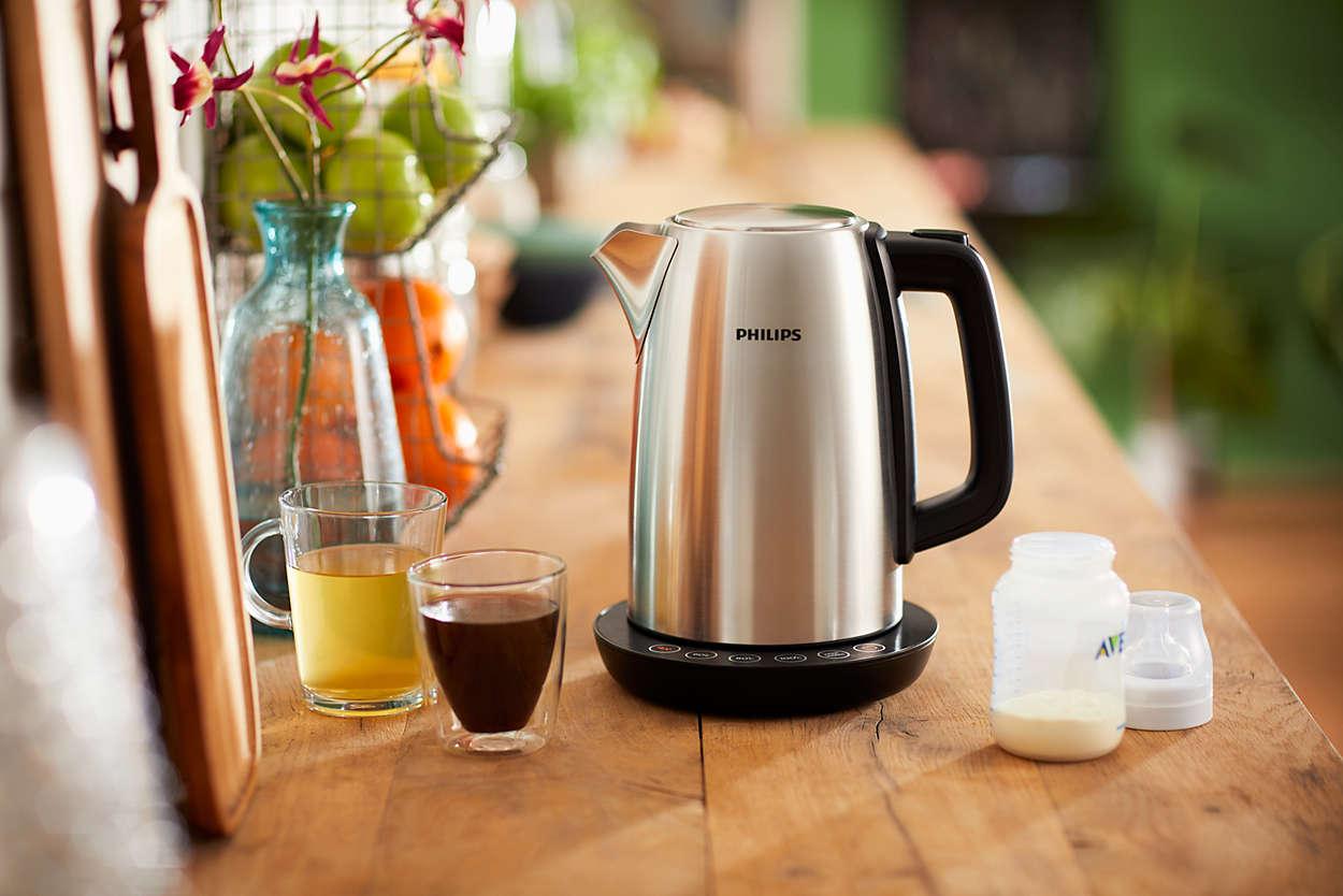 Anleitung zum Wasserkocher entkalken   Philips