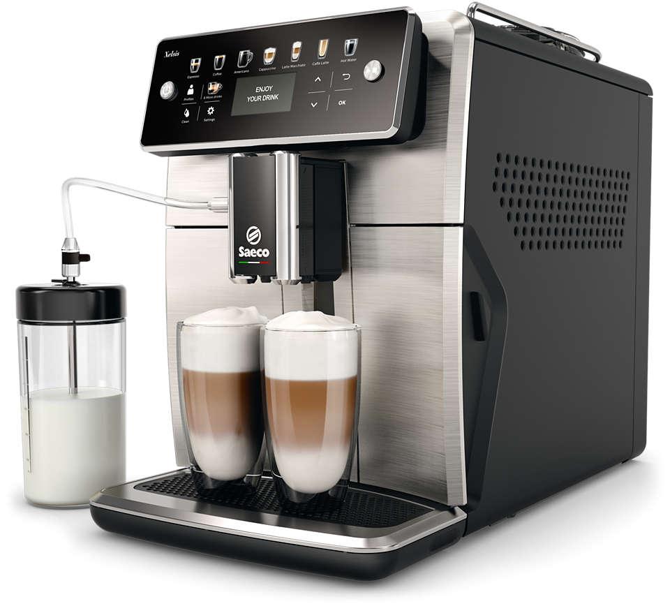 La cafetera espresso Saeco más avanzada hasta la fecha
