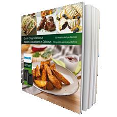 HD9935/01  Airfryer Cookbook