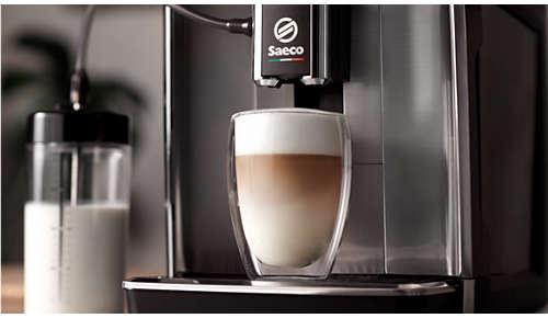 LattePerfetto pentru spumă densă de lapte cu textură fină