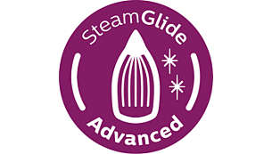 SteamGlide Advanced soleplate for easy gliding on any fabric