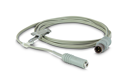 Disposable temperature probes, short (5)' Adapter Cable