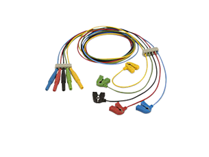 Reusable EEG miniclip leadset Lead Set