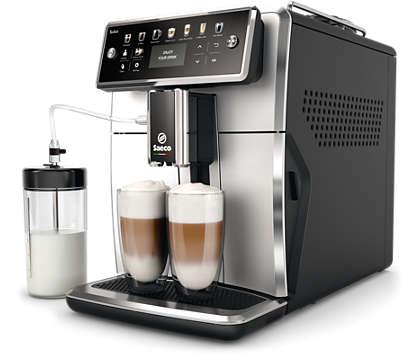 """Atraskite """"Saeco"""" kavos aparatų pasaulį."""