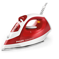 GC1424/40 Featherlight Plus Steam iron with non-stick soleplate