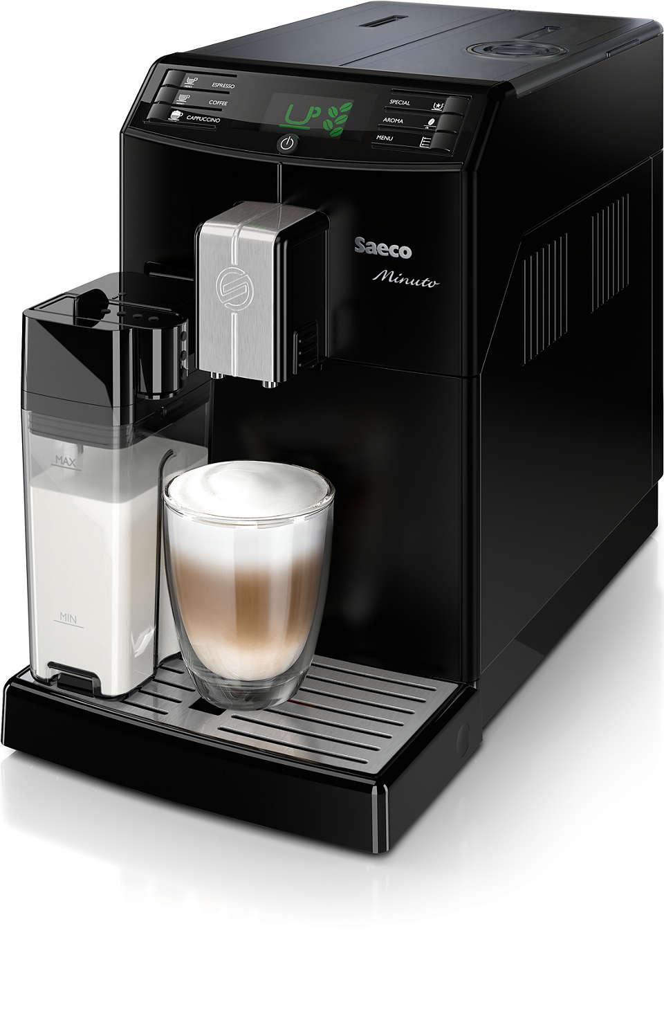 Uvijek do omiljene kave samo jednim pritiskom