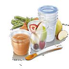 Avent pārtikas uzglabāšanas trauciņi