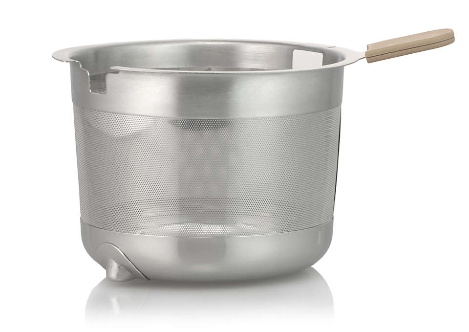 Basket for the tea or teabags in your Teamaker