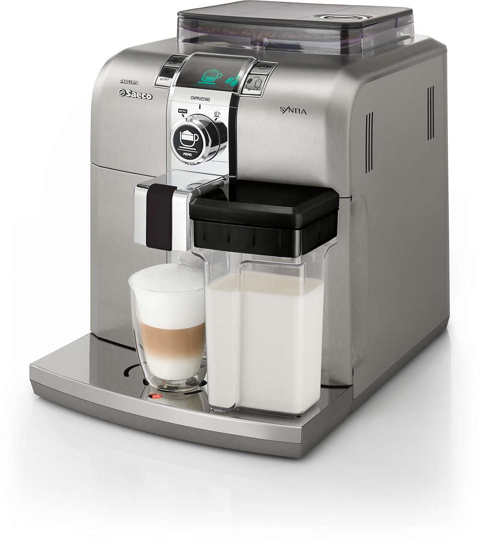 Disfrute del placer de un café espresso italiano en su casa