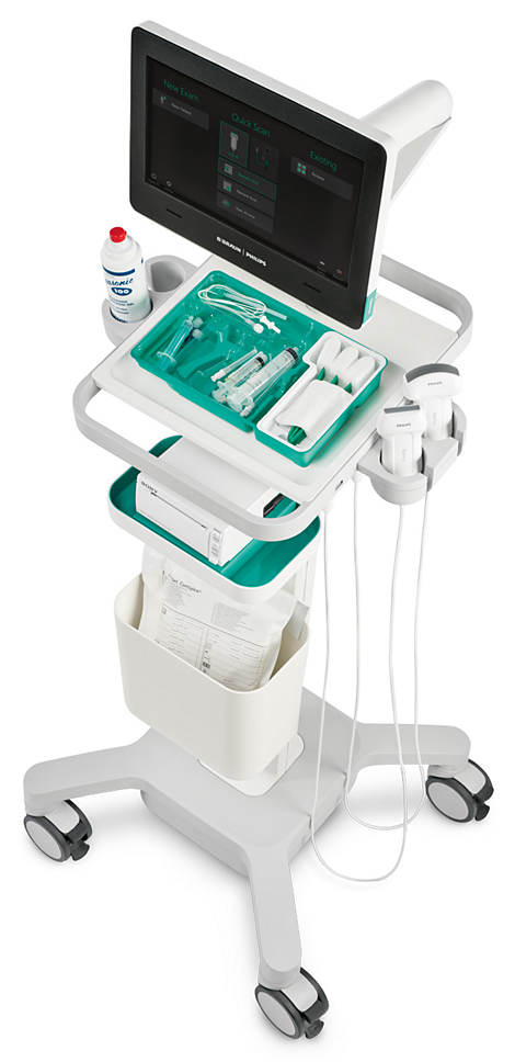 B. Braun and Philips Xperius ultrasound system System for Regional Anesthesia and Vascular Access Procedures