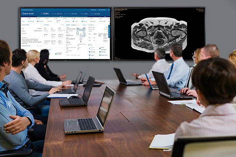IntelliSpace Precision Medicine Oncology Platform Virtual Tumor Board Solution