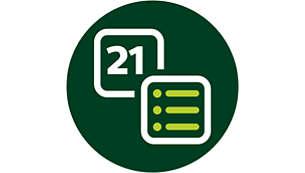 Los accesorios facilitan la ejecución de más de 21 funciones