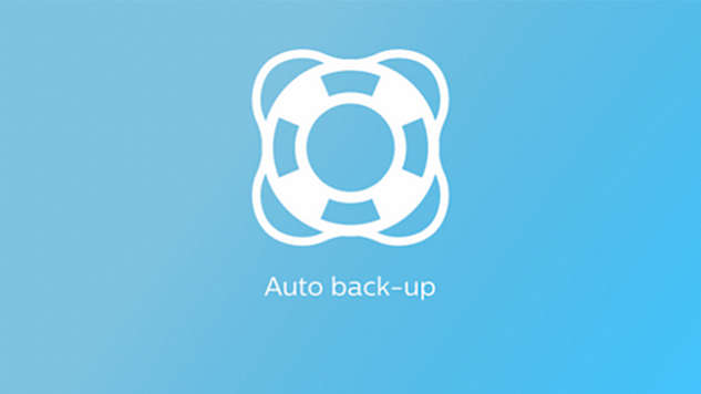 Auto back-up rate to treat central events