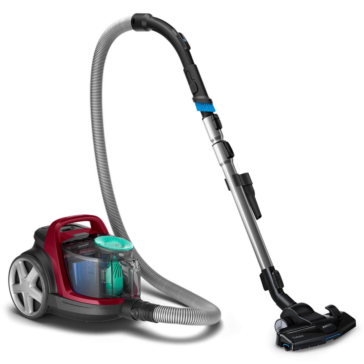 先进的第七代飓风离尘技术实现出众清洁效果