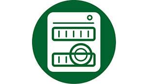 Diskmaskinssäker för enkel rengöring