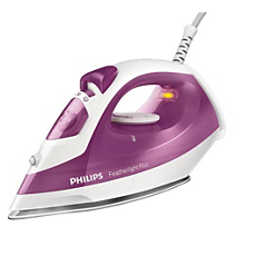 GC1426/36 Featherlight Plus Steam iron with non-stick soleplate