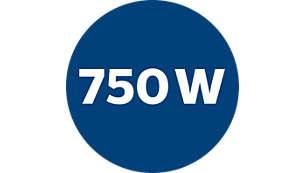 750 W motor voor grote zuigkracht