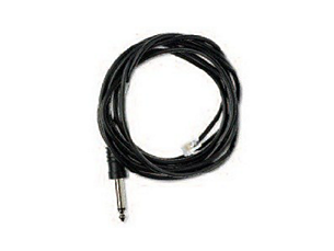 Trilogy RJ9 to 0.635 cm mono jack 3.65 m (normally open) (alarm state = closed)